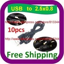 Câble USB 5V 2A 10 pièces   Livraison gratuite, pour NOVO9 Firewire, PIPO M9 Ampe A10 Sanei N10 tablette PC 3G