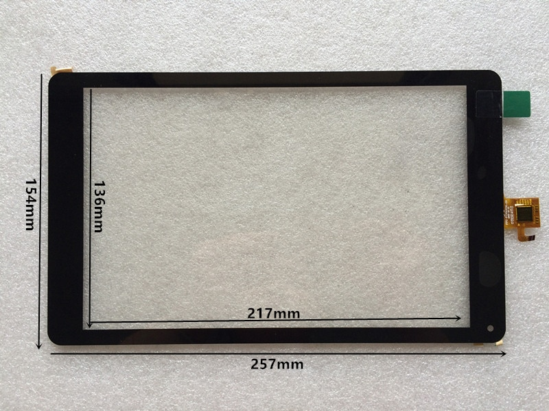 "Nuevo 10,1 ""Prestigio Multipad zabio 3331 3G PMT3331 panel de pantalla táctil digitalizador"