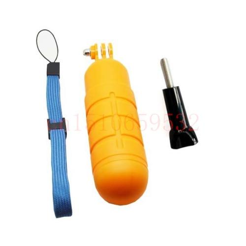 Impermeable Gopro bobber flotante antideslizante Barra de mano agarre para selfies para Yi Gopro 1 2 3 3 + 4 4S 5 SJCAM SJ4000 accesorios de cámara