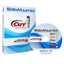 Free Shipping Signmaster Software Vinyl Cutter Plotter Vinyl Sign Making Design software for Window system