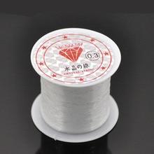 DoreenBeads Nylon Jewelry Thread Cord Transparent 0.3mm, 1 Piece 2015 new