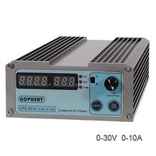 CPS-3010 30 V 10A Präzision Digitale Einstellbare Dc-netzteil Umschaltbar 110 V/220 V Mit OVP/OCP/OTP DC Power 0,01A 0,1 V
