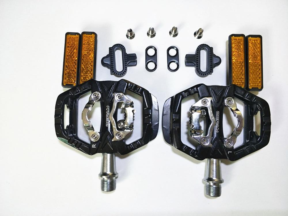 ZERAY-pedales para bicicleta de carretera, pedales de ZP-109S con bloqueo automático, compatibles con SPD, piezas de mejora de zp-108s