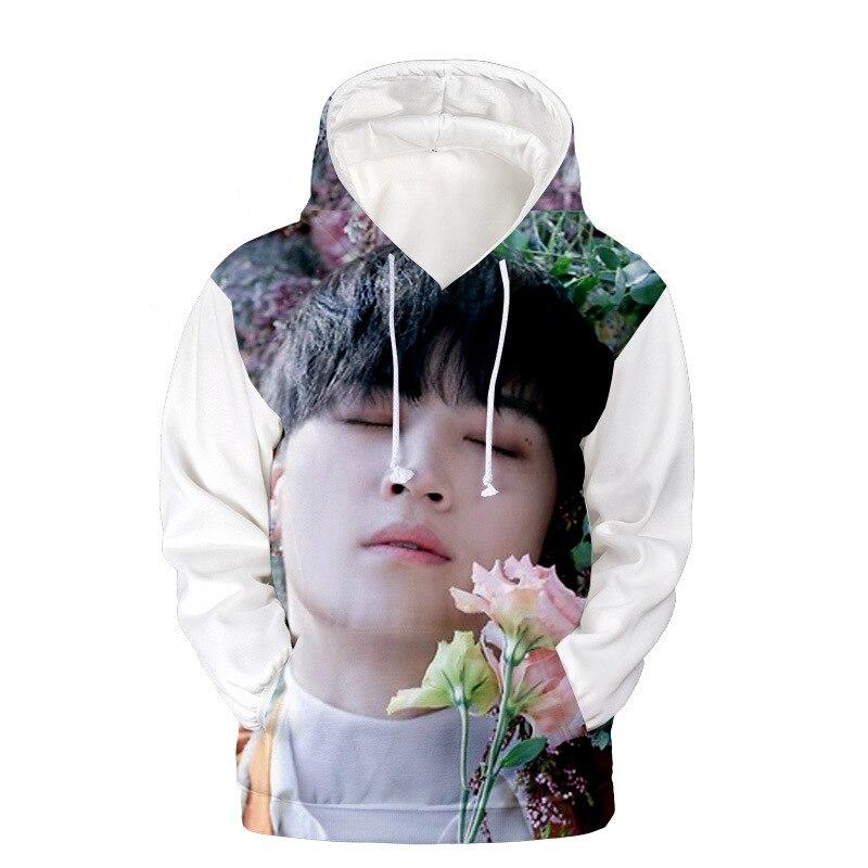Sudadera con capucha kpop Got7 Jackson con estampado 3D coreano, sudadera de dibujos animados, camiseta k-pop Harajuku, ropa