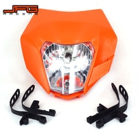 Motorcycle Universal headlight Headlamp Street For KTM EXC EXC-F SX XC XC-W MX SMR SXS SIX DAY ENDURO FREERIDER 50-530