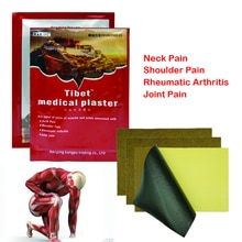 8 peças em um saco chinês herbal terapia distante-infravermelho adesivo alívio da dor muscular gesso reumatismo artrite remendo cuidados de saúde