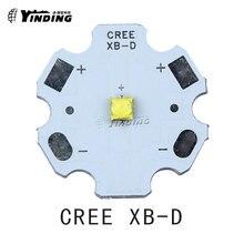 10 pièces Cree XLamp XB-D XBD Q5 rouge 620-630NM 3W haute puissance LED émetteur puce ampoule lampe avec 20MM PCB dissipateur thermique