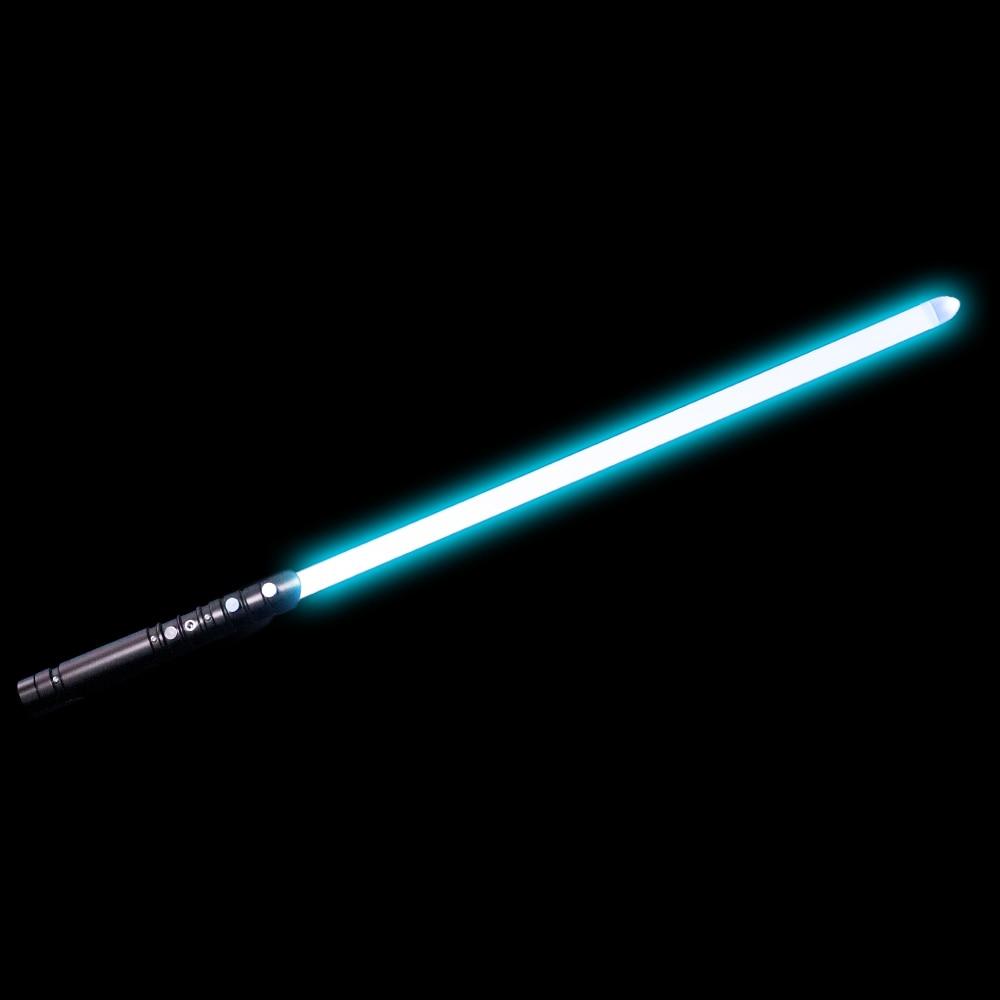 7 Color 100cm Lightsaber YDD PLUS Metal Sword RGB Laser Light Saber Metal Handle Cosplay Boy Gril Toy Luminous Kids Toys
