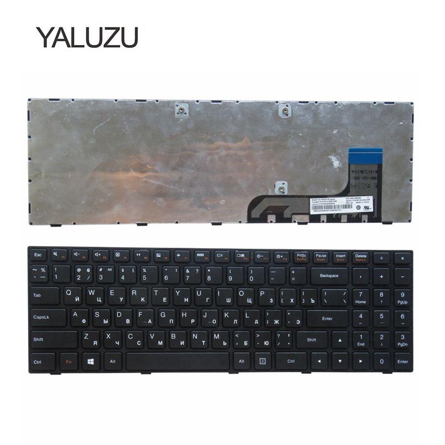 Teclado Para Lenovo Ideapad 100-15 YALUZU 100-15IBY 100-15IB B50-10 PK131ER1A05 5N20h52634 9z.NCLSN.00R NANO NSK-BR0SN Preto RU