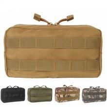 Pochette de ceinture médicale Molle tactique CQC EDC articles divers sac de premiers soins de chasse militaire