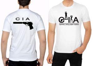 T Shirt Dry Fit Short Sleeve  Cia Agency  Secret Mens  hip hop  t shirts