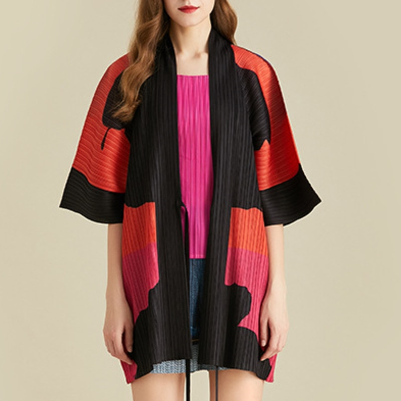 ¡Novedad de primavera 2020! Chaqueta LANMREM de moda para mujer con carácter, abrigo, cárdigan de punto multicolor informal y holgado de talla grande TC239