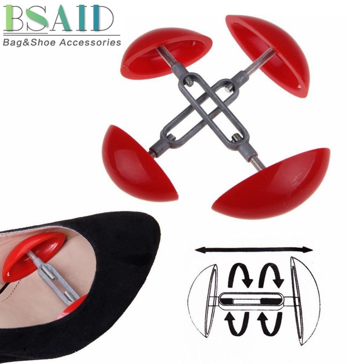 BSAID 1 пара обуви, растягиватель для обуви, подставка для формирования дерева, профессиональный мини-корсет для обуви, регулируемая ширина, расширитель для обуви