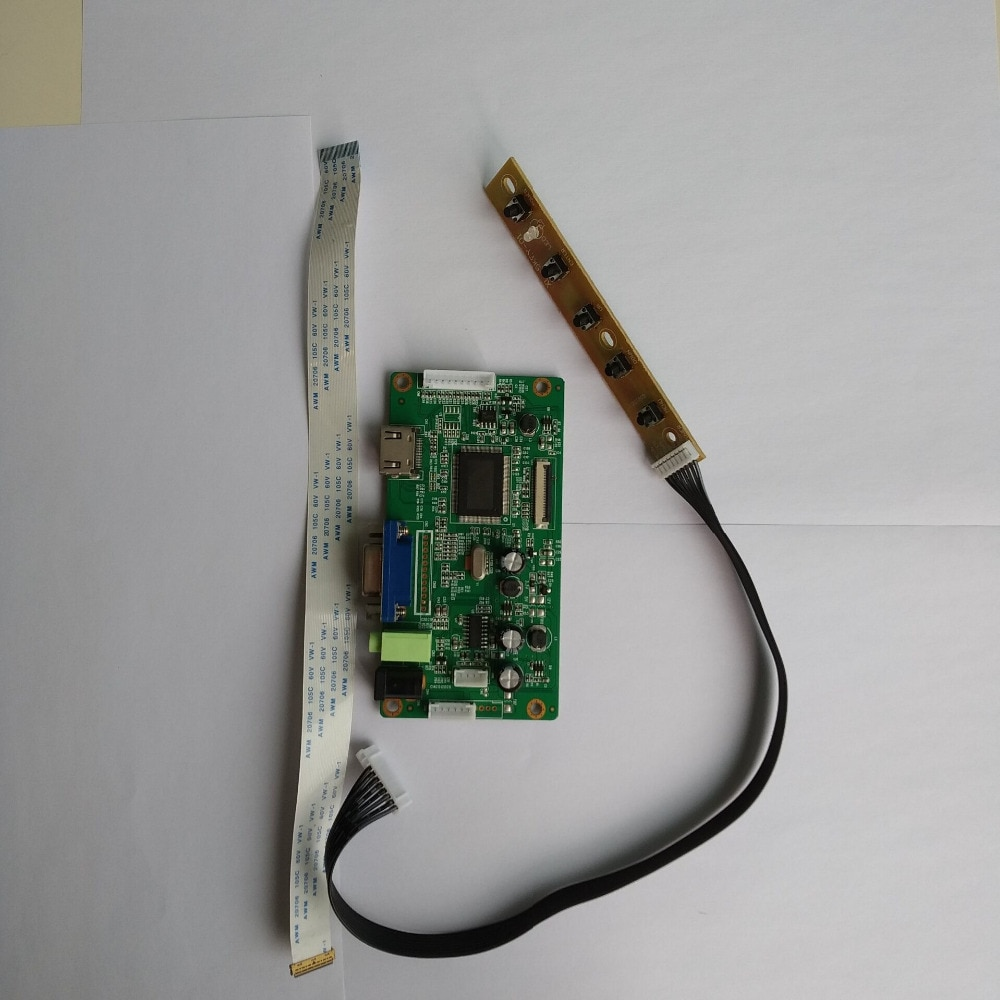 تحكم مجلس سائق كيت 30pin HDMI VGA عرض شاشة EDP LED ل 1920X1080 لوحة 17.3