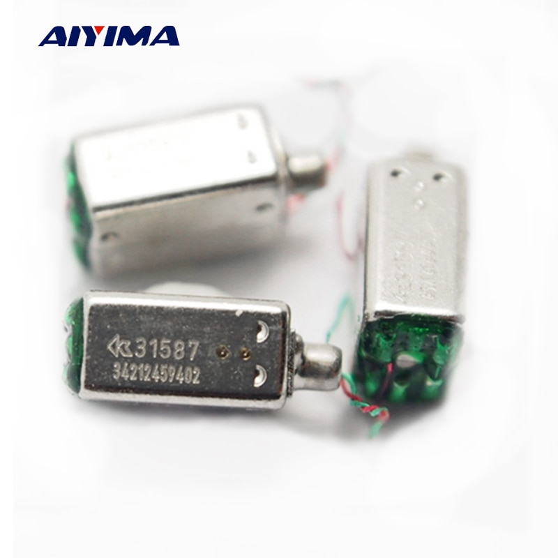 AIYIMA 2 шт. мини динамический Железный клаксон колонки GR-31587 слуховые аппараты динамик Высокочастотный динамик для ушей сбалансированные арматурные приемники