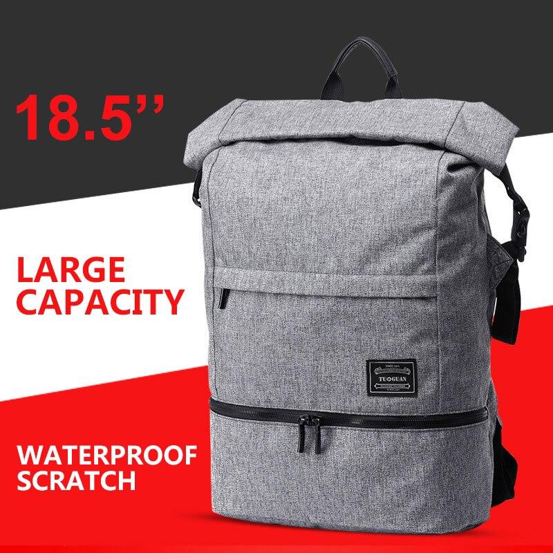 Seco molhado separationintim ate impermeável anti-roubo grande capacidade portátil mochila para 15.6 polegada lenovo thinkpad w530 notebook saco