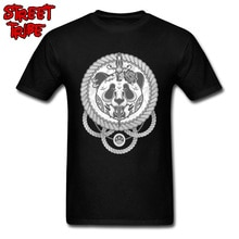 Extrême Panda homme T-Shirt Style Punk T-Shirt Discount Vintage T-Shirt O cou saint valentin 100% coton tissu rue t-shirts