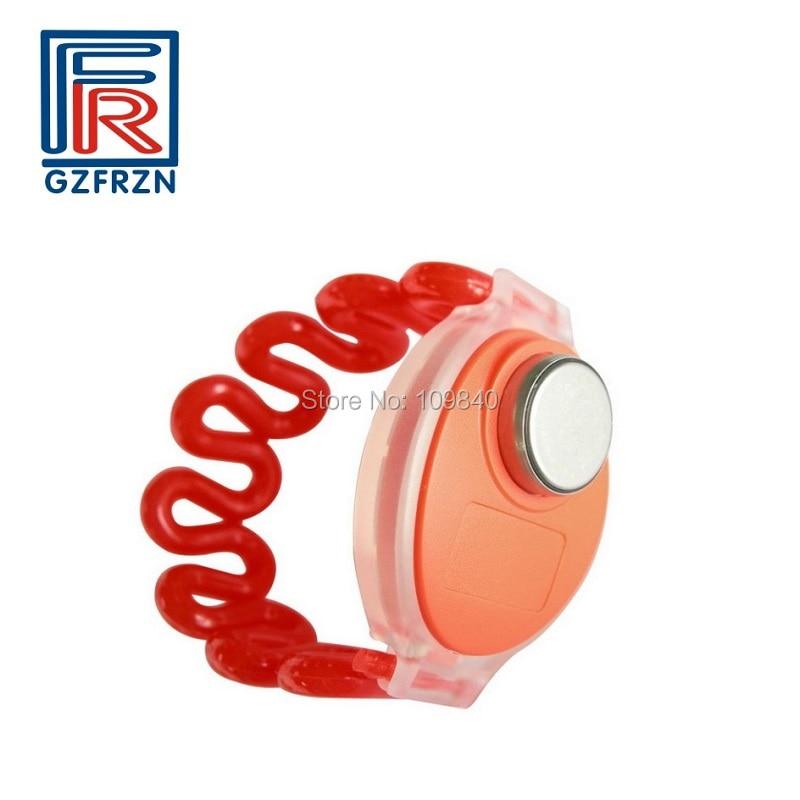 100 unids/lote TM tarjeta ibutton reloj pulsera/pulsera para sauna Spa Resort Hotel armario cerradura
