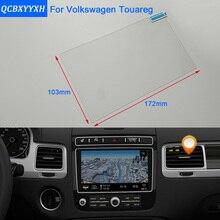 Film de protection en verre pour Volkswagen Touareg   Style de voiture, 8 pouces, écran de Navigation GPS, écran de protection pour tableau de bord