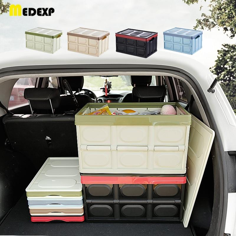 car box Car Organizer Trunk Storage Box Large Capacity Folding Auto Trucks Box / Bag Stowing Tidying Car Accessories