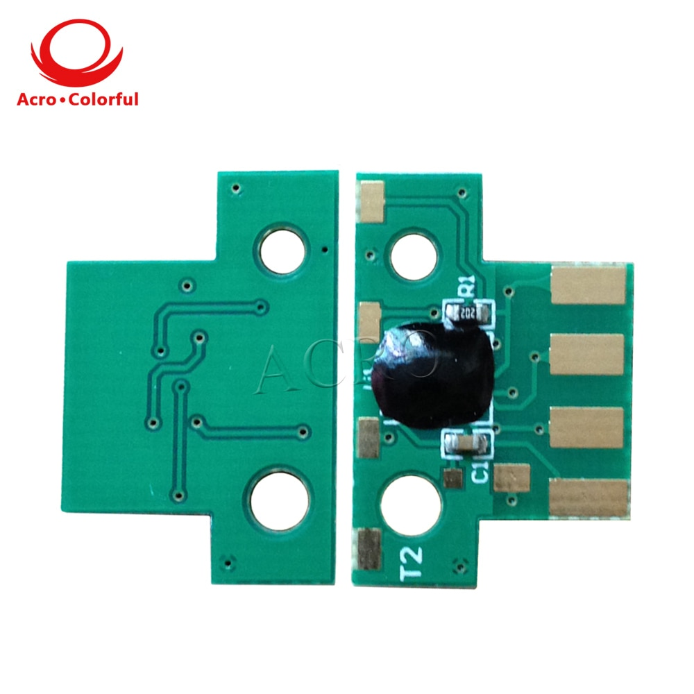 EU One set 80C2XK0 80C2XC0 80C2XM0 80C2XY0 toner chip for Lexmark CX510de dhe dthe laser printer cartridge refill