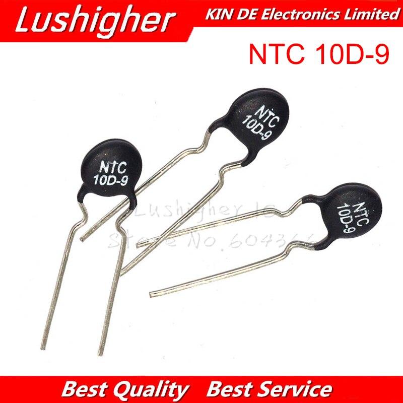 20 sztuk termistor NTC rezystora NTC 10D-9 rezystor termiczny