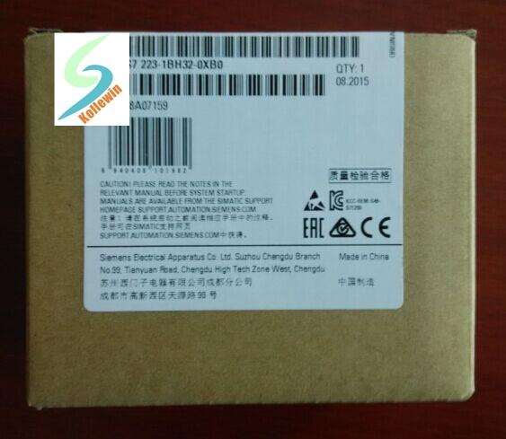 Original SIMATIC S7-1200 6ES7223-1BH32-0XB0 DIGITAL I/O 8DI/8DO... 8DI 24 V DC módulo PLC 6ES7 223-1BH32-0XB0 6ES72231BH320XB0