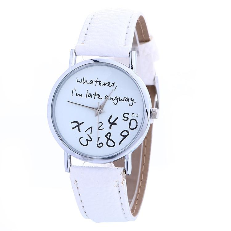 New Fashion Brand Bracelet Quartz Watches Women Ladies Student Casual Crystal Wristwatch Clock Hour