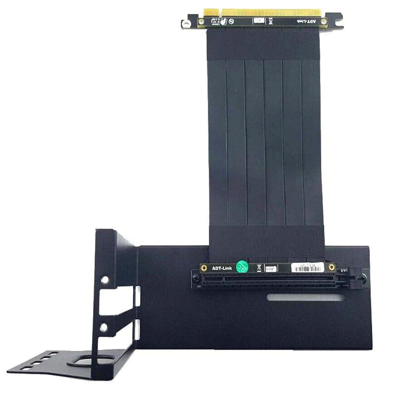 GTX Graphics Card Bracket Extension Cable Riser Fixed vertical ATX Case PCI-e 16x x16 DIY Internal Brackets holder Stent Stand
