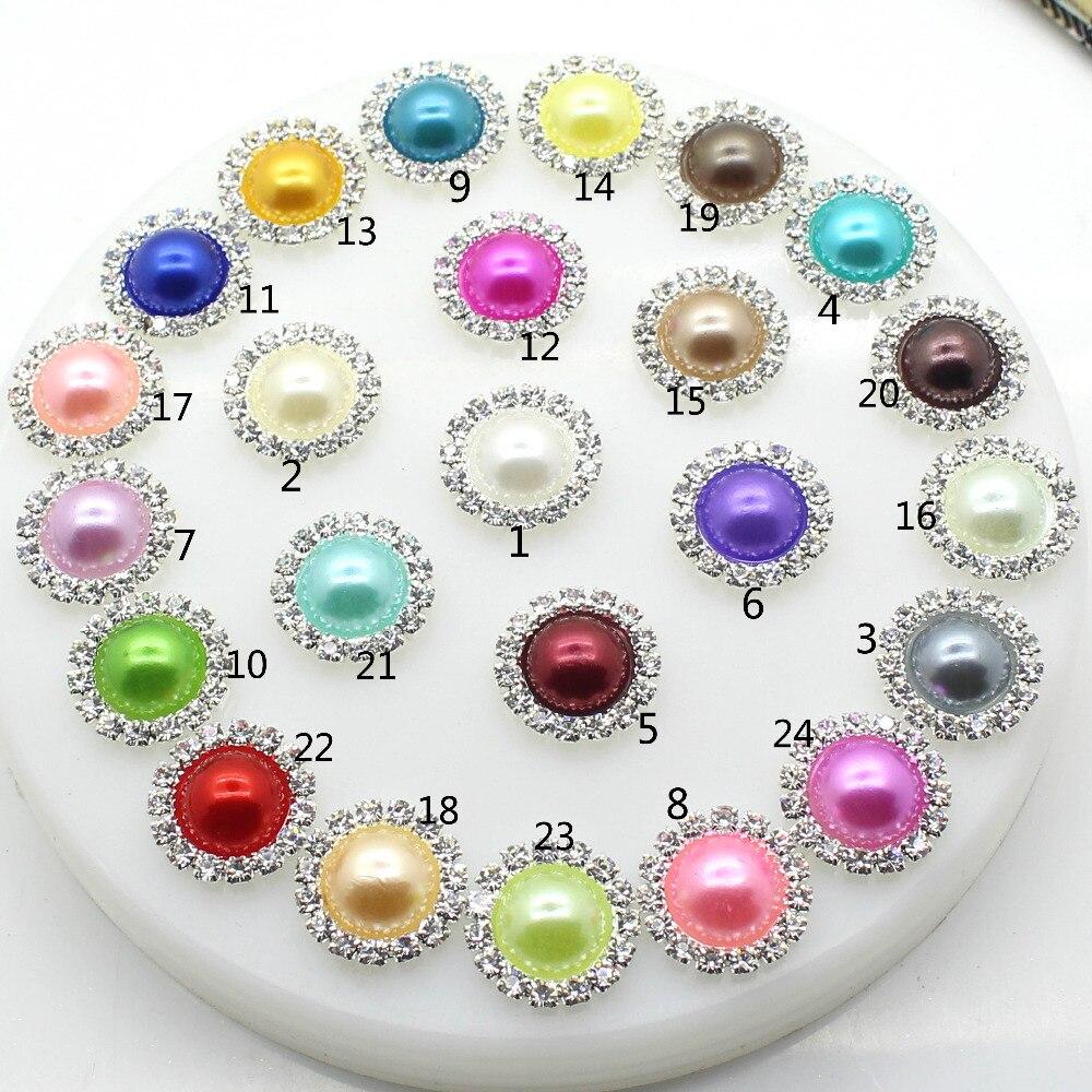 Precio bajo, tamaño completo, 100, unids/lote, botones con parte posterior plana, hecho a mano botón plateado, accesorios, decoración de boda, Color mixto, envío gratis