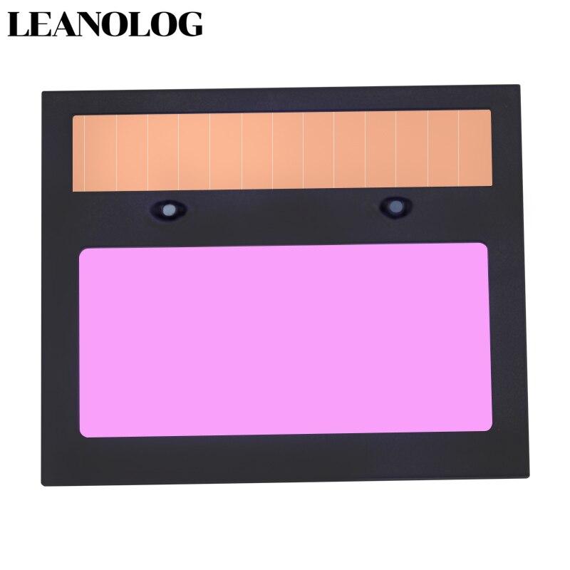 Batería LI solar auto oscurecimiento/sombreado lente de filtro de soldadura para Máscara de Soldadura y casco de soldadura