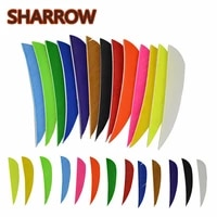 50pcs 3 inch water drop fletching arrow feathers 13 colour turkey feathers vanes for arrow diy tools shooting accessories