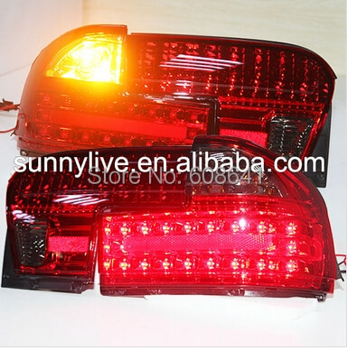 Para PROTON Wira luz trasera LED 1992 año modelo rojo