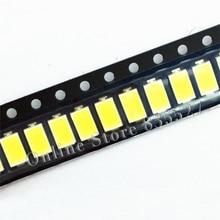 1000 pcs/lot LED 5730 5630 perles de lampe SMD 150MA 60-65LM supports en cuivre diode électroluminescente blanche pure avec tube Zener LG