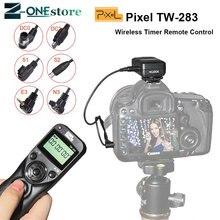 Pixel TW-283 déclencheur sans fil minuterie télécommande pour Canon télécommande Sony Samsung Nikon d7500 d7200 d5600 d5300 appareil photo