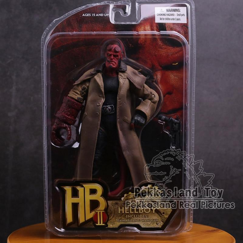 Экшн-фигурка MEZCO Hellboy из ПВХ, Коллекционная модель игрушки