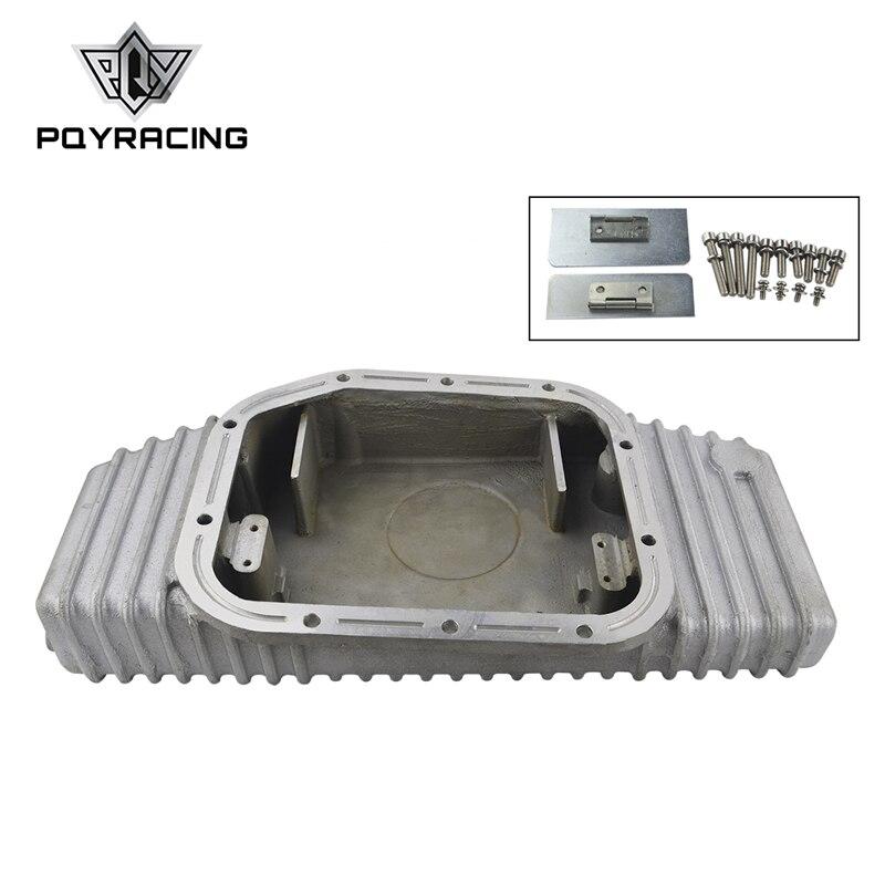 PQY - FOR S13 S14 S15 SR20DET SR20 180SX 200SX 240SX SILVIA SIL 80 TURBO ALUMINUM OIL PAN  (Fits: Nissan) PQY-OP49