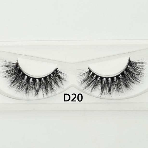 Visofree – faux cils de vison à Volume élevé, sans cruauté envers les animaux, extension longue pour maquillage, D20