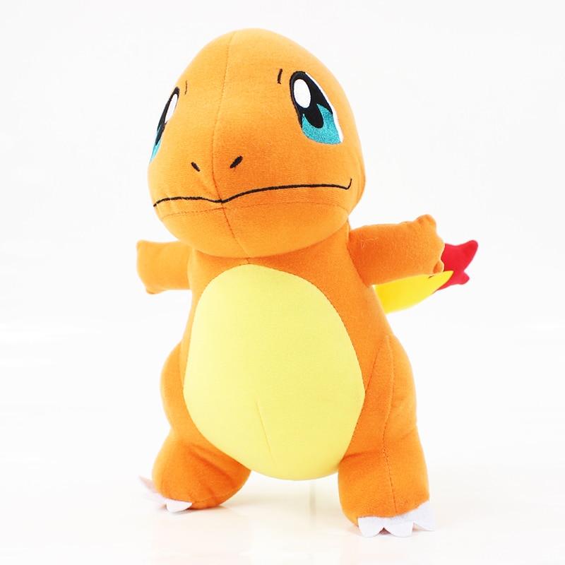 28cm Cute Anime Charmander Dragon Plush Toy Hitokage Soft Stuffed Standing Dragon Toy Game Soft Doll Free Shipping