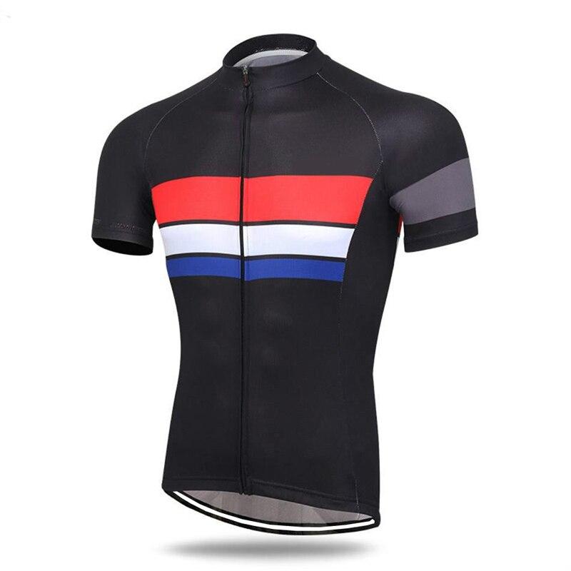 CUSROO 2020 pro equipo cómodo bicicleta camisa ropa deportiva ciclismo Rojo Negro Personalizar animación nuevo Jersey de ciclismo para hombres