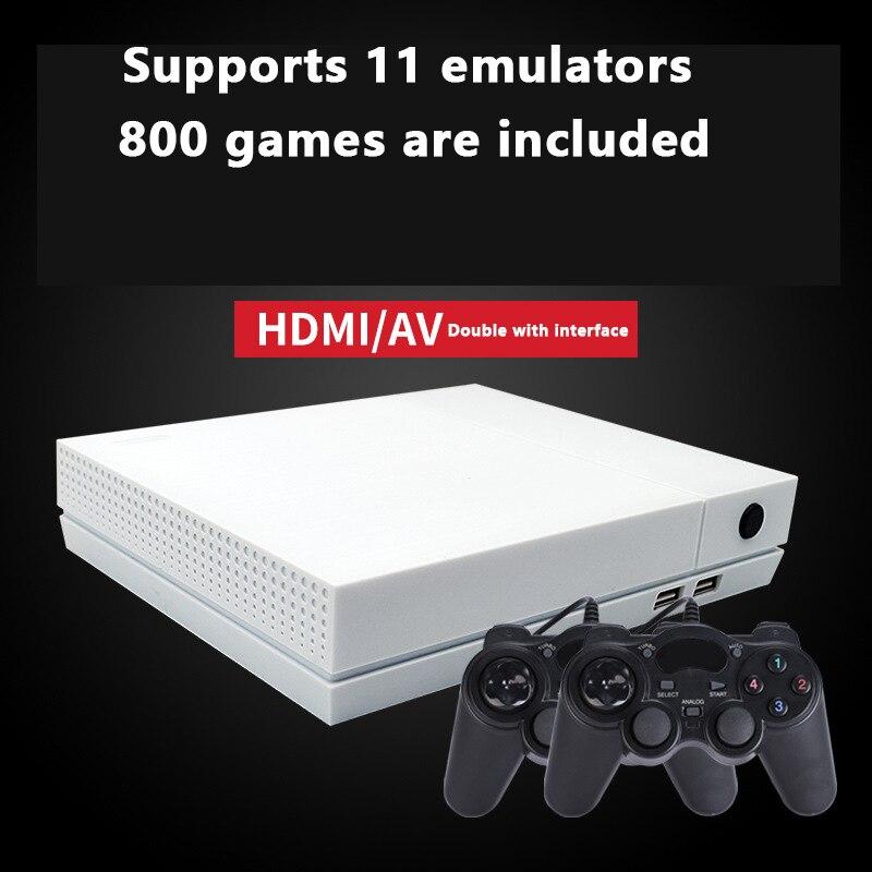 HDGAME 1280P 4G RAM consola de juegos retro integrado en 800 juegos 10 big simulador home HDMI consola de videojuegos para NEOGEO CPS GBA PS1