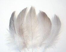 Plumes de canard de Mallard 5-9cm 200 pièces/lot   Plumes de flancs de canard, rarement naturelles, plumes de canard de canard ample pour la fabrication de bijoux