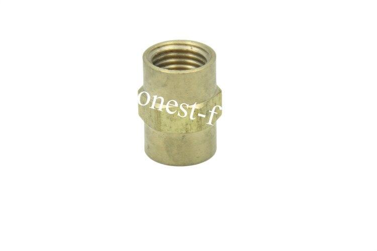 "Conector de tuberías de latón sin plomo 1/4 ""acoplamiento hembra NPT"