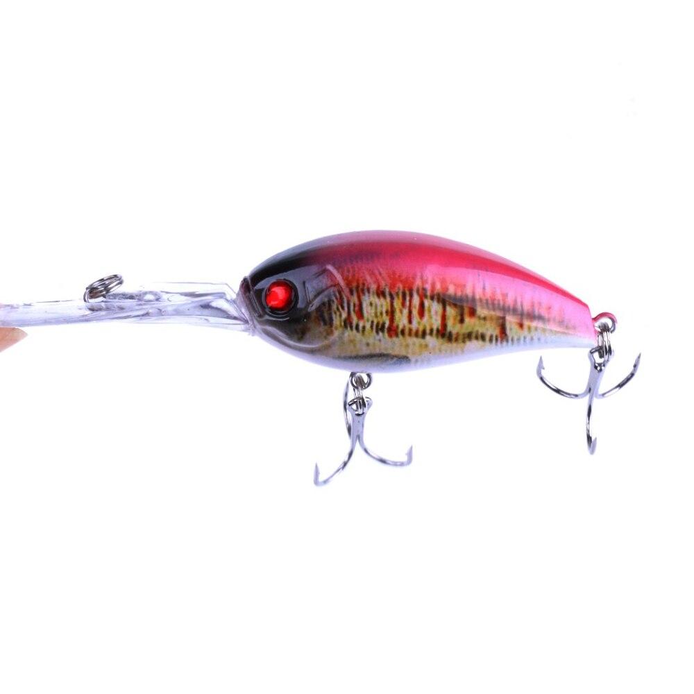 YUZI 60pcs Hard Bait Crankbait Lure Fishing Lures Depth Isca Wobblers 12CM-18G enlarge