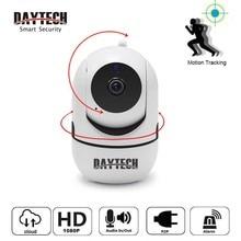 DAYTECH-caméra de sécurité sans fil IP   Mini caméra WiFi, suivi des mouvements Auto, 720P/1080P, moniteur de vidéosurveillance Audio Cloud (C8820)