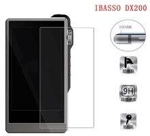 Ibasso dx200 용 2/pcs 9 h 프리미엄 보호 강화 유리 ibasso dx200 케이스 용 스크래치 방지 스크린 보호기 전면 필름