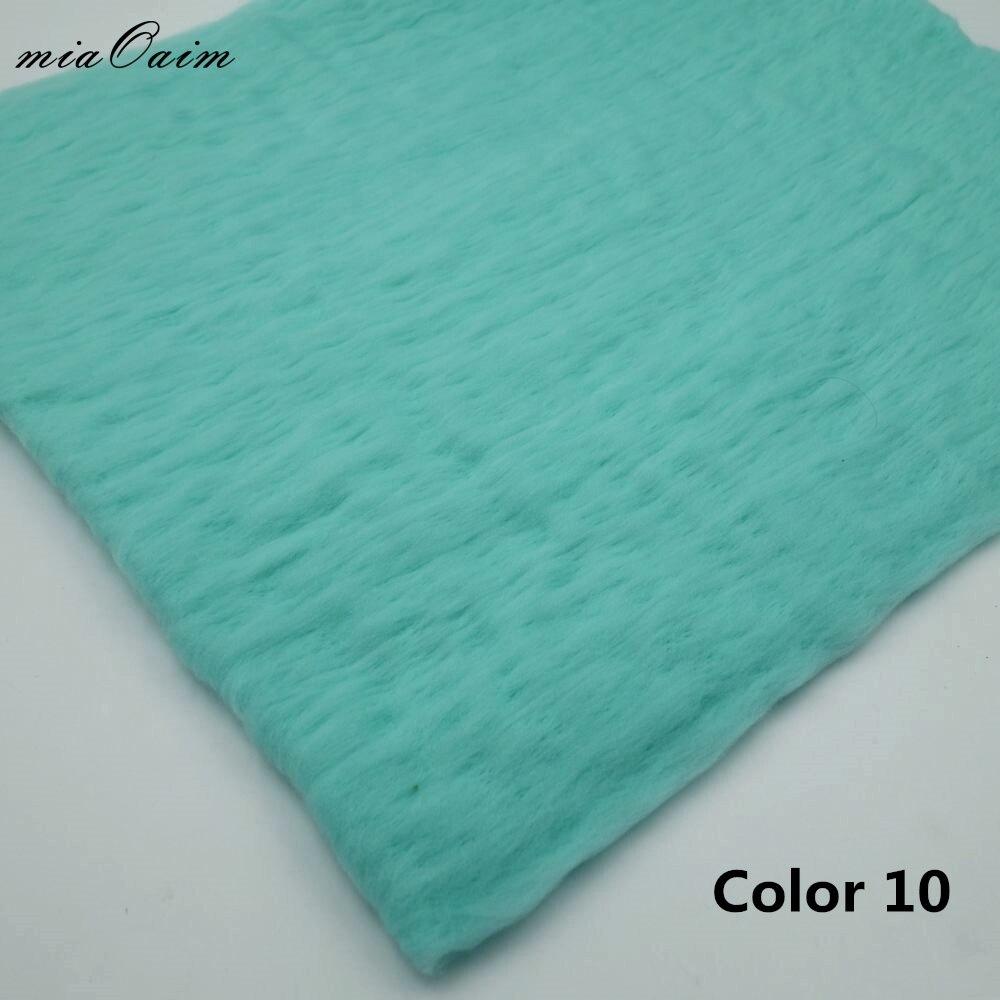 5 piezas/lana mullida fieltro manta de lana relleno capa fondo fotografía recién nacido utilería Baby Shower regalo para maternidad