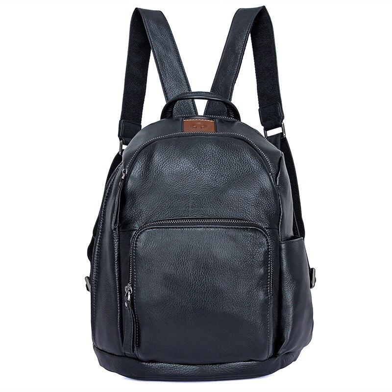Nesitu, высокое качество, новая мода, черная натуральная кожа, женские рюкзаки для девочек, женские дорожные сумки для 9,7 ''ipad M2010