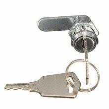 Mtassembler serrure à came pour classeur, boîte à outils, armoire à tiroirs de bureau avec 2 clés, diamètre de tête en alliage de Zinc 16mm, nouveau