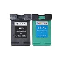 luocai compatible ink cartridges for hp350 for hp 350 351 photosmart c4480 c4483 c4380 4480 deskjet d4200 d4260 d4263 printer